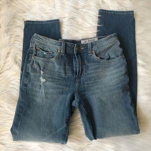 Adriano Goldschmeid Kid's distressed Jeans